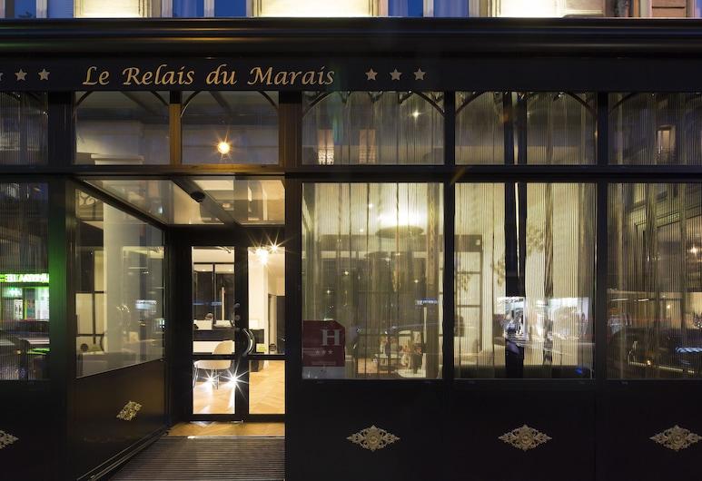 Hotel Le Relais du Marais, Paris, Façade de l'hôtel - Soir/Nuit