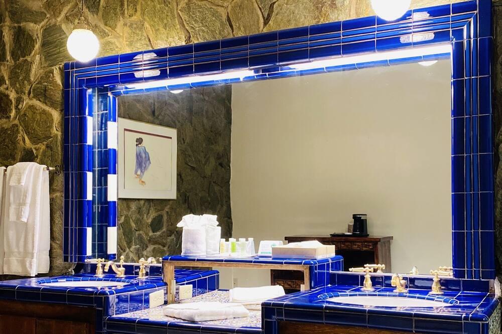 Presidentiële suite, 1 kingsize bed, bubbelbad - Badkamer