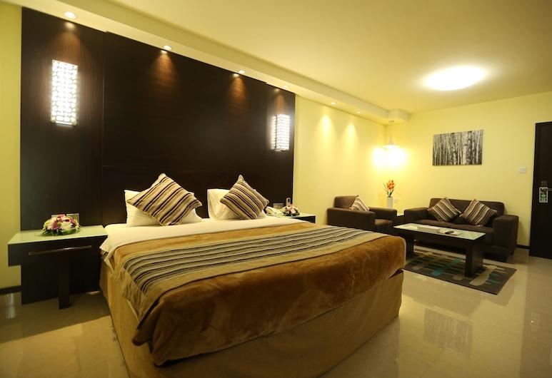 Panorama Bur Dubai Hotel, Dubajus, Standartinio tipo vienvietis kambarys, Svečių kambarys
