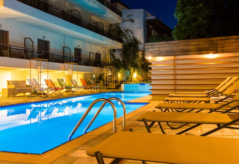 Bourtzi Hotel, Skiathos, Areál