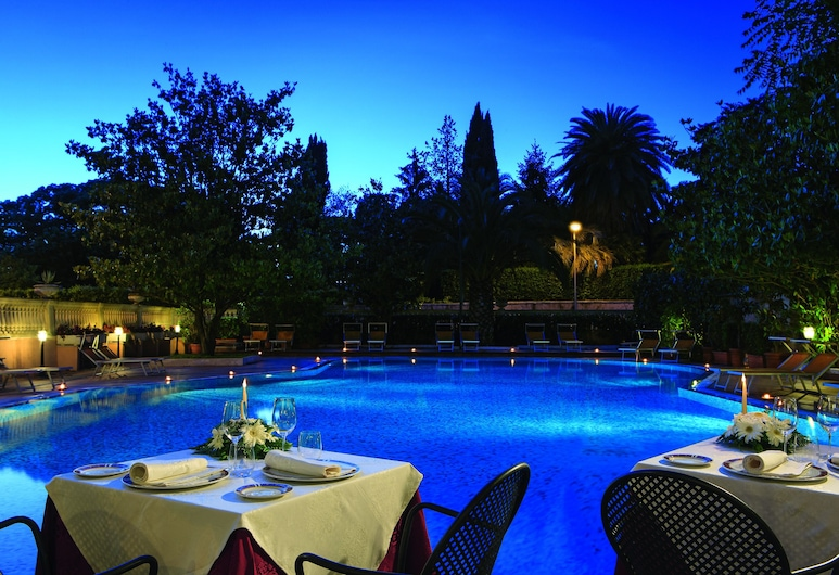 Grand Hotel Gianicolo, Rome, Outdoor Dining