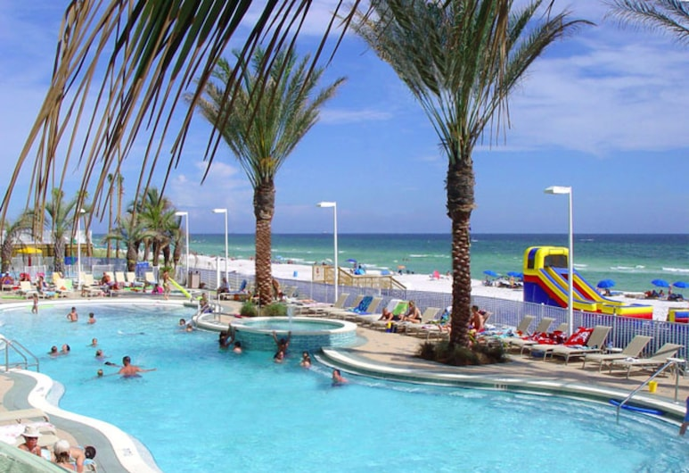 Boardwalk Beach Resort by Royal American Beach Getaways, Panama City Beach, Outdoor Pool