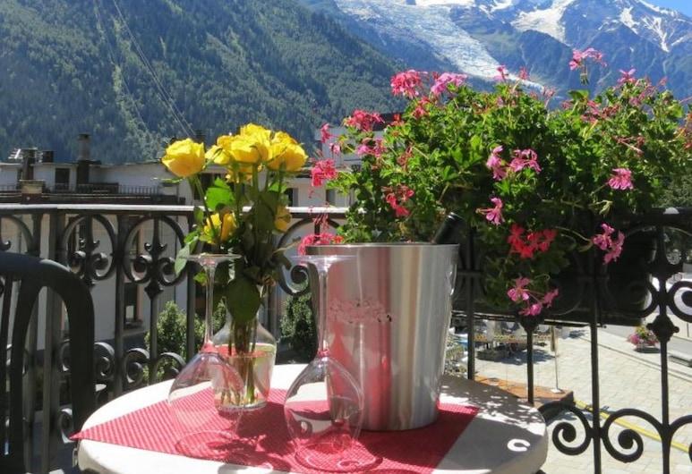 Hôtel Le Chamonix , Chamonix-Mont-Blanc, Chambre avec lits jumeaux, balcon, Chambre