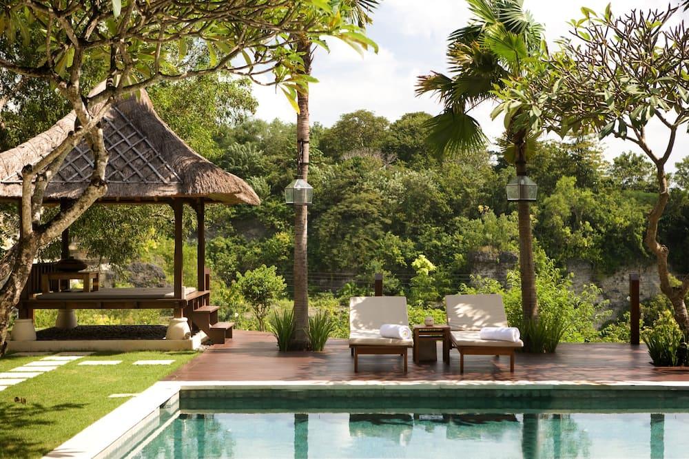Deluxe Villa, 4 Yatak Odası, Vadi Manzaralı - Açık Yüzme Havuzu
