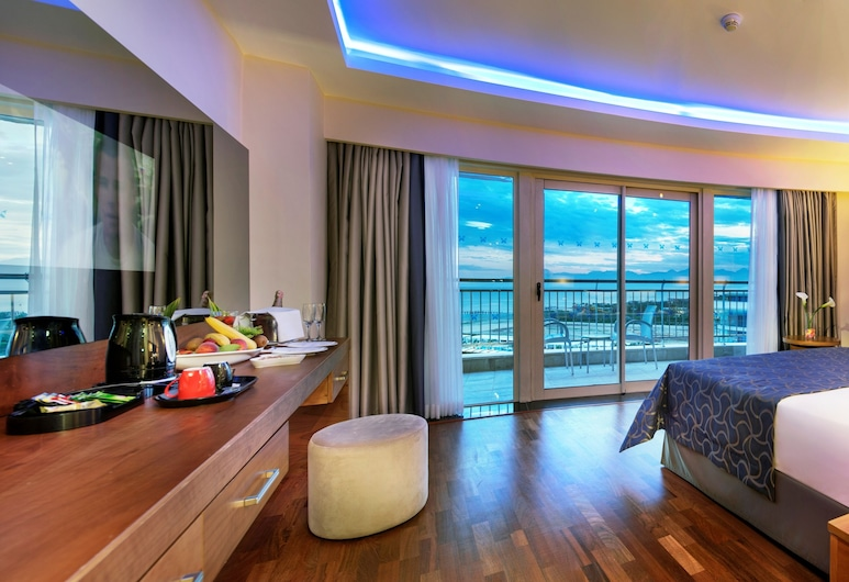 Liberty Hotels Lara - All Inclusive, Анталія, Одномісний номер (Side Sea View), Номер