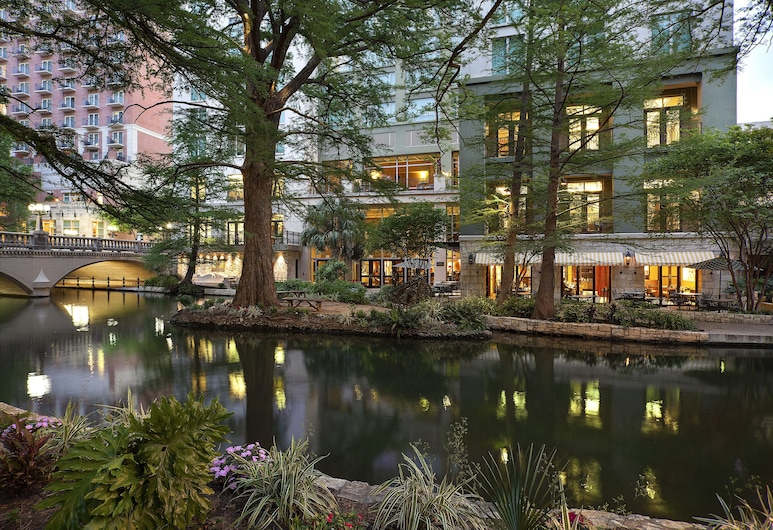 Hotel Contessa - Luxury Suites on the Riverwalk, San Antonio, Terrazza/Patio