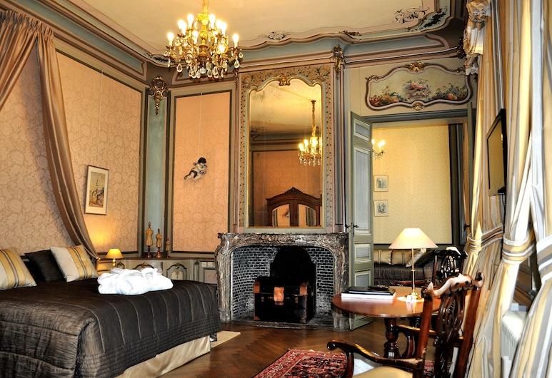 Hotel Jan Brito, Brugge, Suite – junior (Triple), Gjesterom
