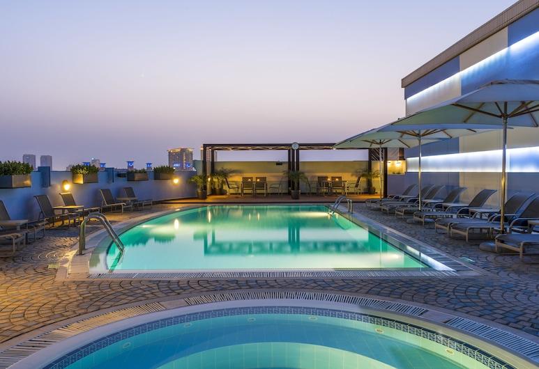 Coral Dubai Deira Hotel, Dubai, Rooftop Pool