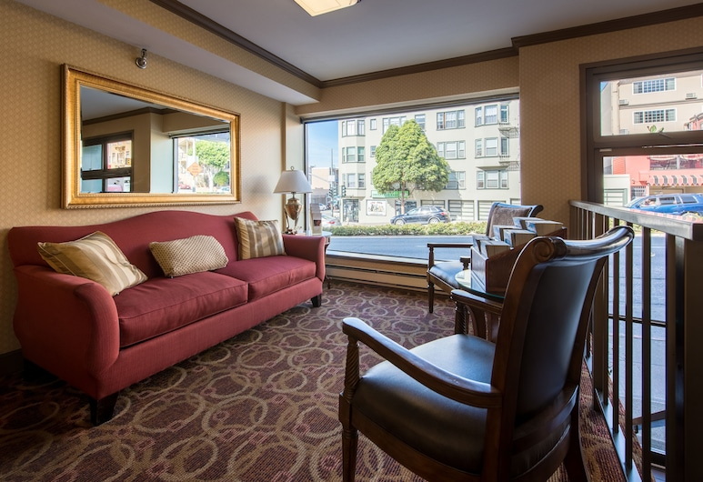 倫巴汽車旅館, 舊金山, 客廳