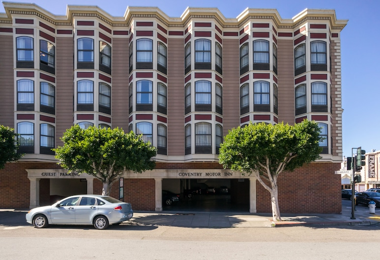 Coventry Motor Inn, San Francisco, Hotel Front