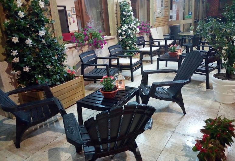 Hotel Marconi, Fiuggi, Taras/patio