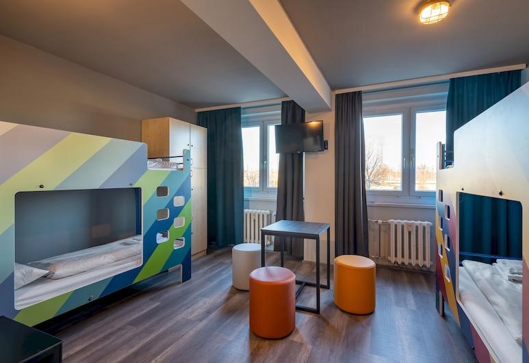 A&O ミュンヘン ハッカーブリュッケ, ミュンヘン, ホステル ベッド 4 台 ルーム, 部屋