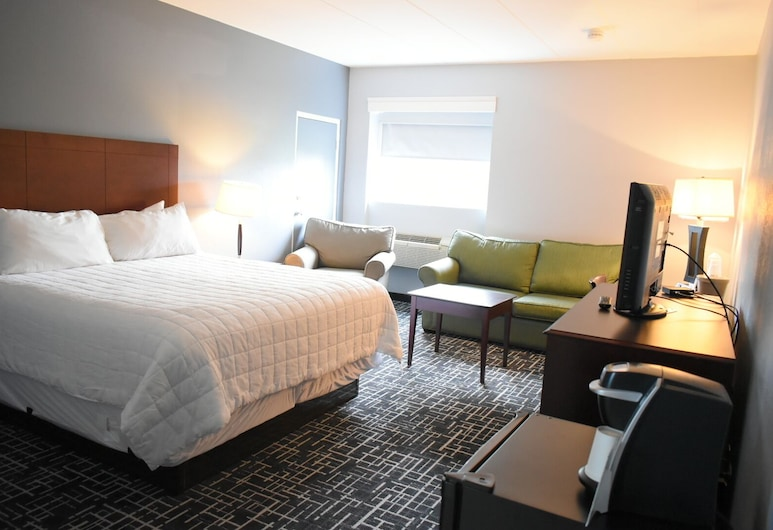 Comfort Inn	, Hyannis, Room, 1 King Bed, Non Smoking (Large), Guest Room