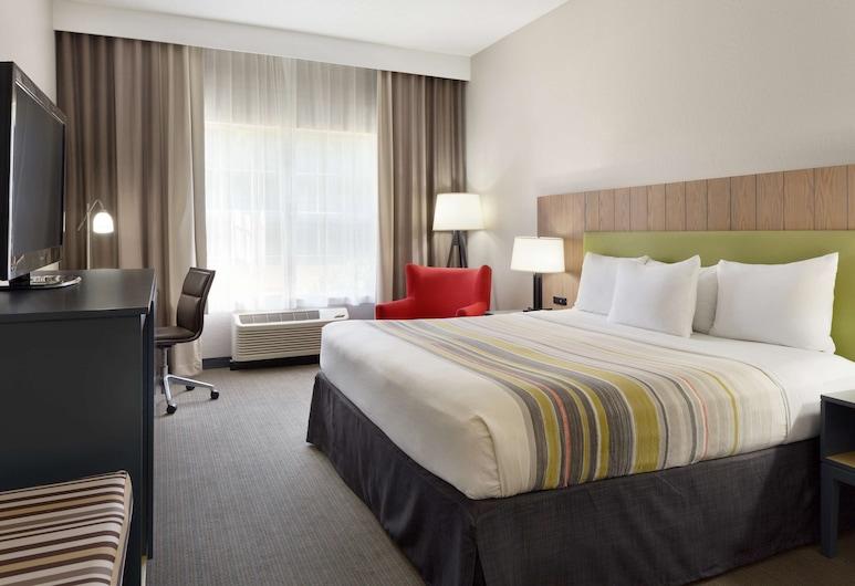 Country Inn & Suites by Radisson, Brunswick I-95, GA, Brunswick, Oda, 1 En Büyük (King) Boy Yatak, Sigara İçilmez, Oda