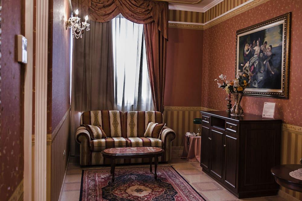 جناح سوبيريور - غرفة نوم واحدة - تجهيزات لذوي الاحتياجات الخاصة - لغير المدخنين - منطقة المعيشة