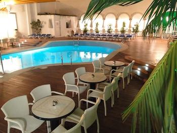 Calella bölgesindeki Miami Hotel resmi