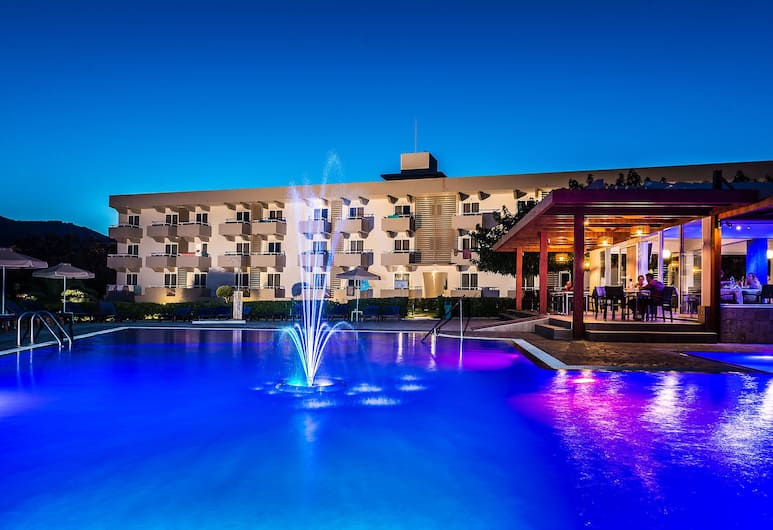 Zoes Hotel, Rhodes, Pool
