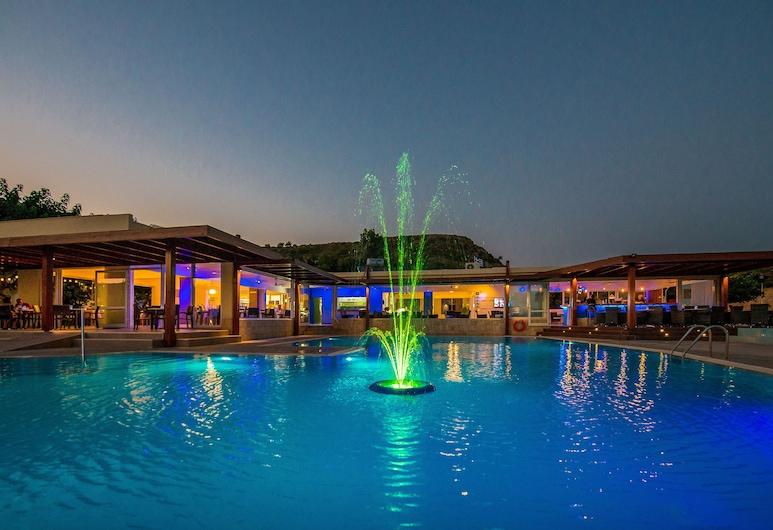 Zoes Hotel, Rodosz, Medence