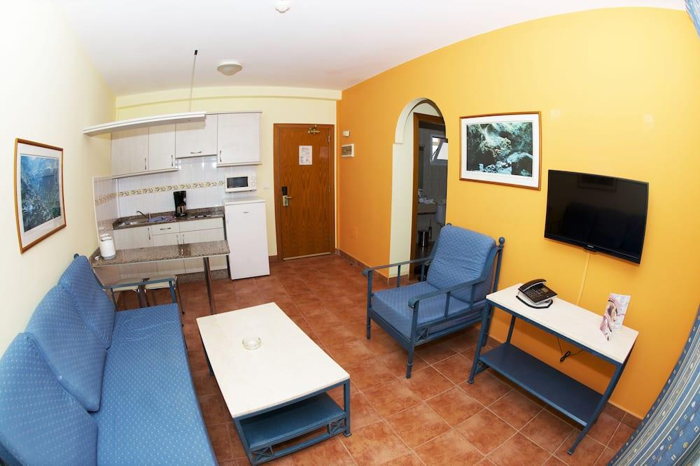 Departamento, 1 habitación, vista al mar - Cocina compartida