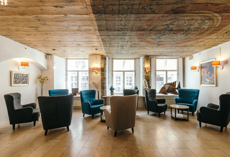 Merchants House Hotel, Tallinn, Hotellounge