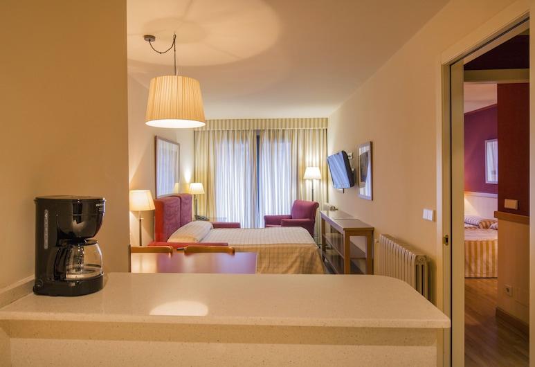 舒斯基公寓酒店, 恩坎普, 公寓, 1 間臥室, 廚房 (2 adults + 1 child), 客房