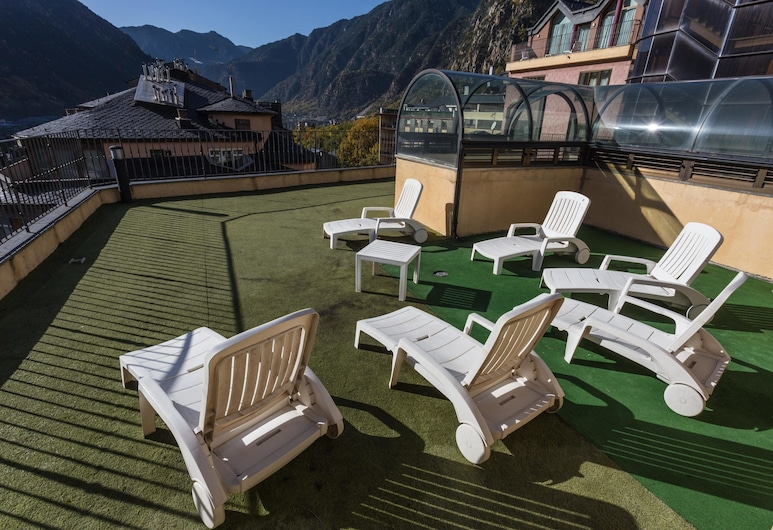Hotel Cervol, Andorra la Vella, Terasa