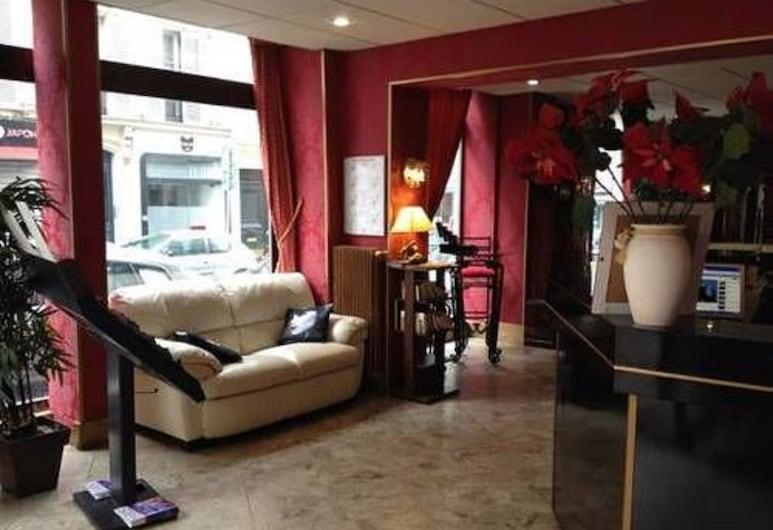 Hotel Vintimille, Paris, Lobby
