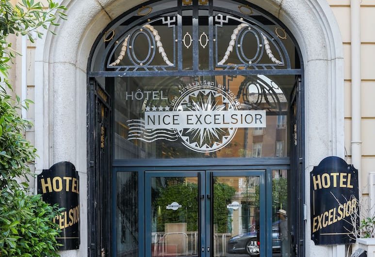 Hôtel Nice Excelsior, Nizza, Hotelfassade