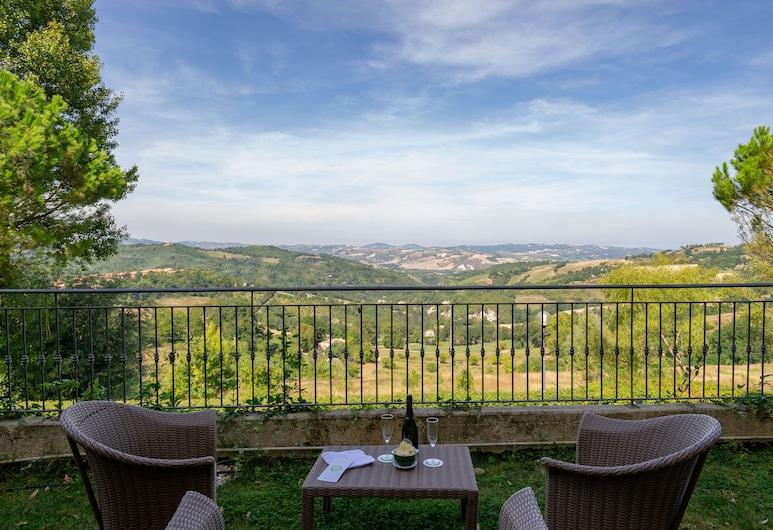 Hotel Mamiani, Urbino, Terrass