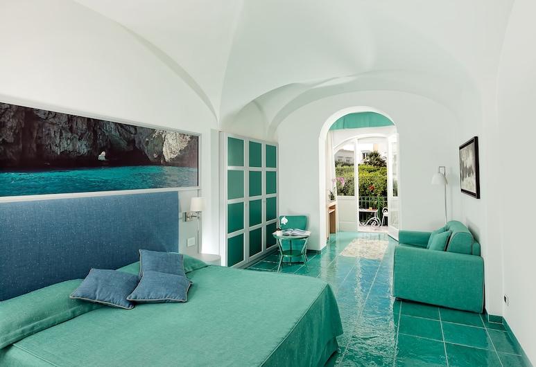 Gatto Bianco Hotel & SPA, Capri, Habitación doble Deluxe, Habitación