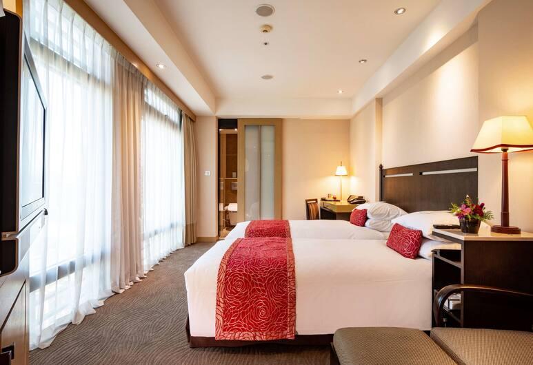 Landmark Inn, Naujasis Taipėjus, Standartinio tipo dvivietis kambarys (2 viengulės lovos), Vaizdas iš svečių kambario