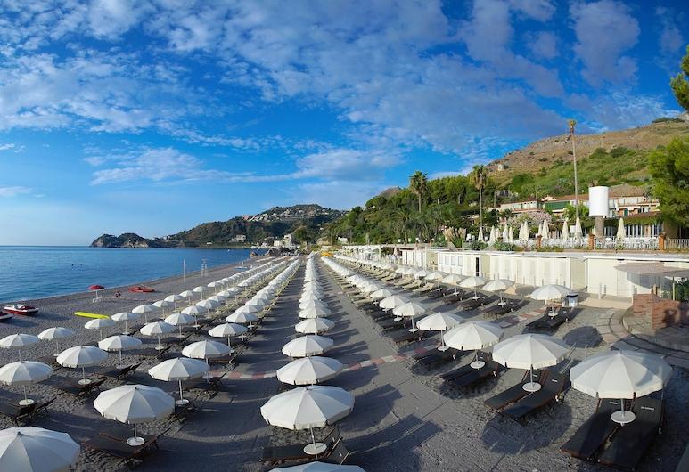 Hotel Isabella, Taormina, Beach