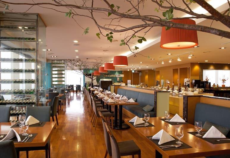 Ramada Songdo Hotel, Incheon, Salle de petit-déjeuner