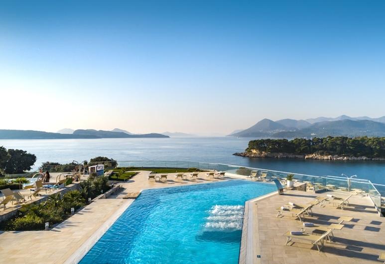 Valamar Argosy Hotel, Dubrovnik, Piscine à débordement