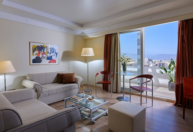 Atrion Hotel, Heraklion, Executive Suite, Sea View, Guest Room View
