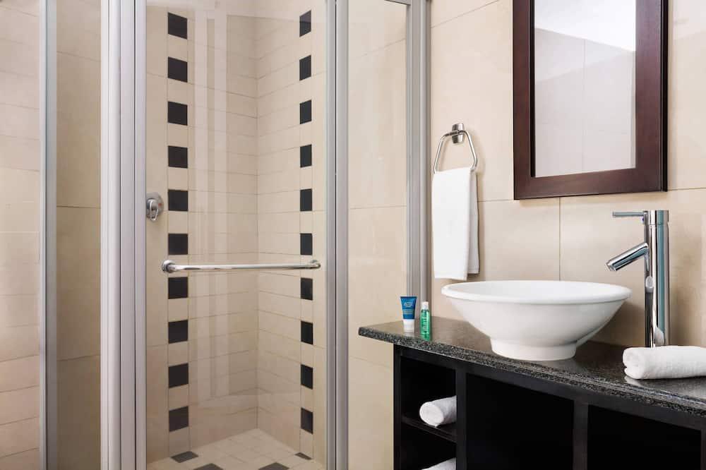 디럭스룸, 킹사이즈침대 1개, 전망 - 욕실