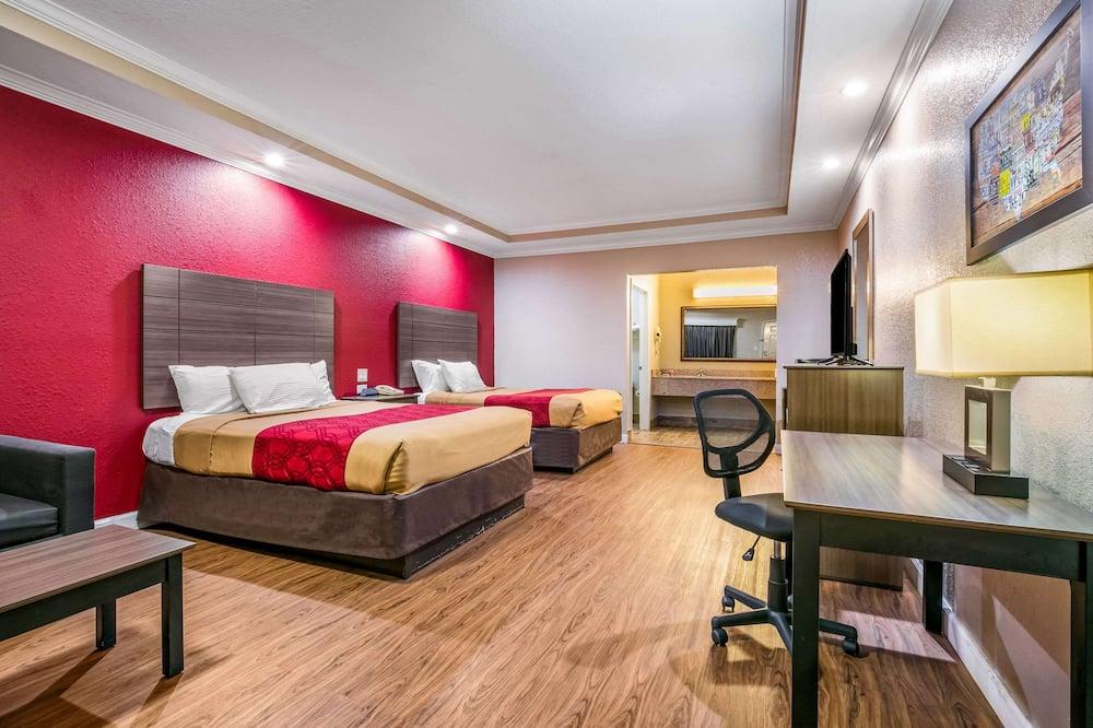 Standardní pokoj, 2 dvojlůžka (180 cm), kuřácký - Pokoj
