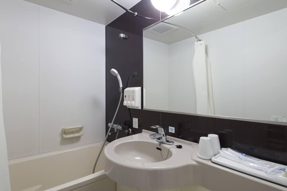 ルーム ダブルベッド 1 台 禁煙 - バスルーム