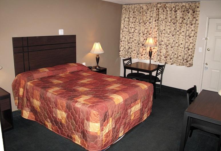 Budget Host Inn NAU / Downtown Flagstaff, Flagstaff, Standardrum - 1 queensize-säng, Gästrum