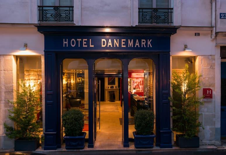 호텔 덴마크, 파리, 외부