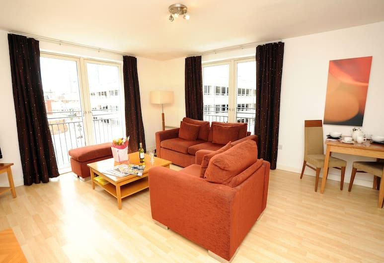 PREMIER SUITES Birmingham, Birmingham, Apartment, 1 Schlafzimmer, Wohnzimmer