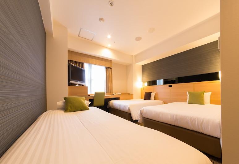 โรงแรมอิล มอนเต้, โอซาก้า, ห้องทริปเปิล, ปลอดบุหรี่, ห้องพัก
