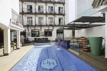 Selline näeb välja Hotel Neptuno, Calella