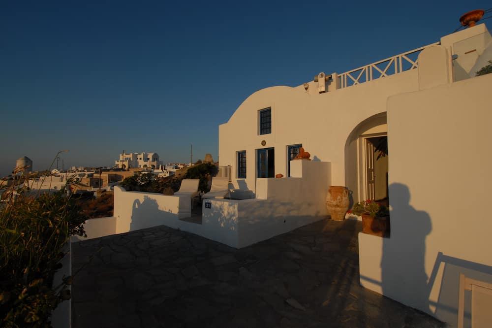Obiteljski studio apartman, pogled na more - Balkon