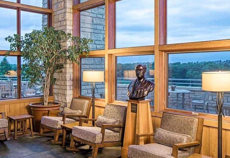 Lied Lodge & Conference Center, Nebraska City, Sala de estar en el lobby