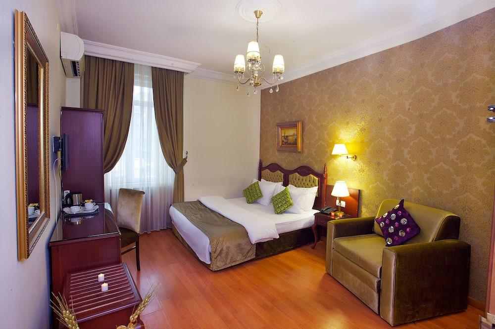 חדר סופריור זוגי או טווין - אזור מגורים