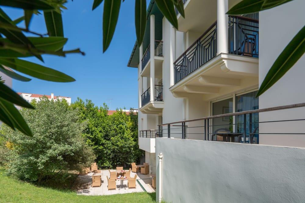 Apartemen, pemandangan kebun - Balkon