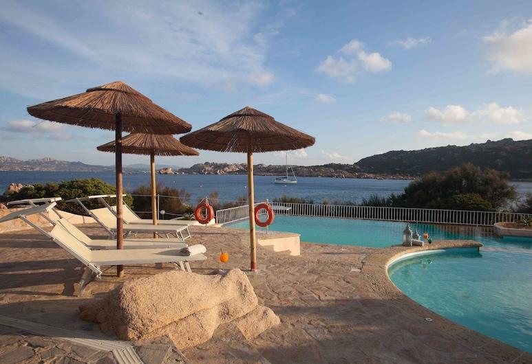 Hotel Cala Lunga, La Maddalena, Lauko baseinas
