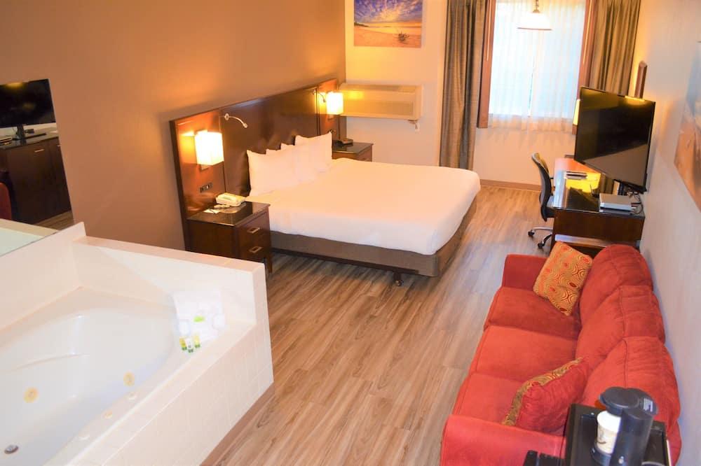 Suite, bañera de hidromasaje - Habitación