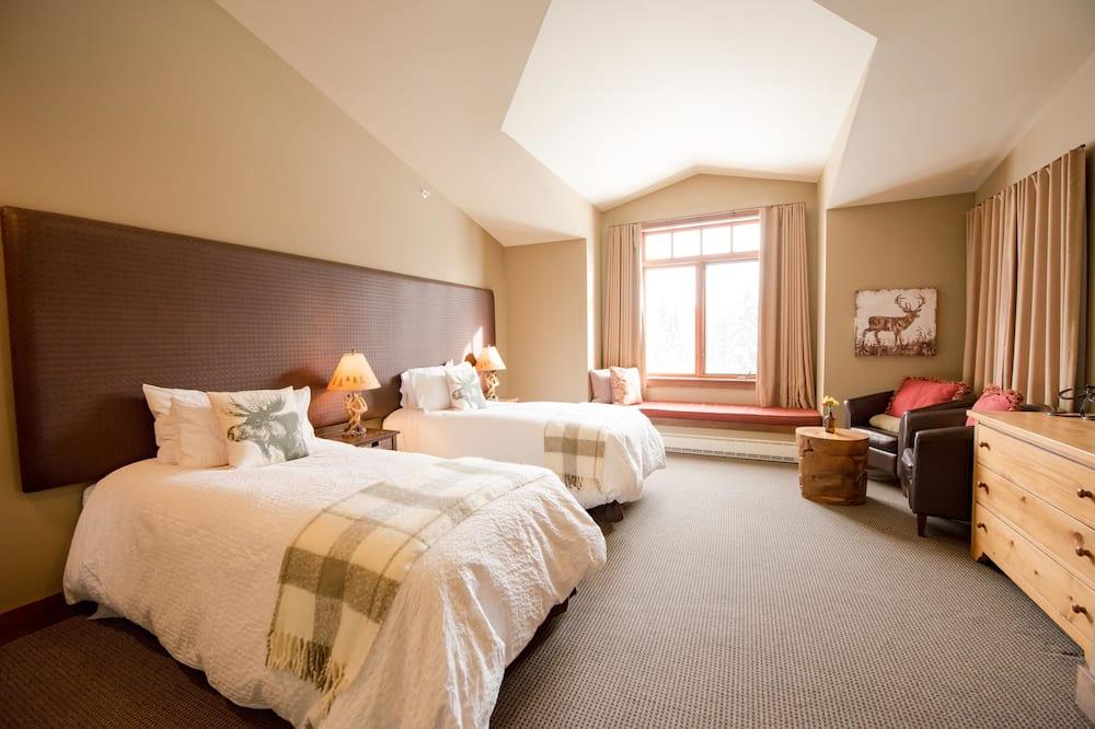 Deluxe egyágyas szoba, 1 hálószobával, kilátással a hegyre - Fürdőszoba